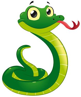 змея по английски произношение
