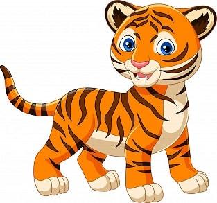 тигр по английски произношение