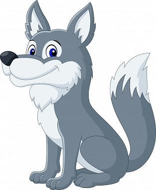 волк по английски произношение