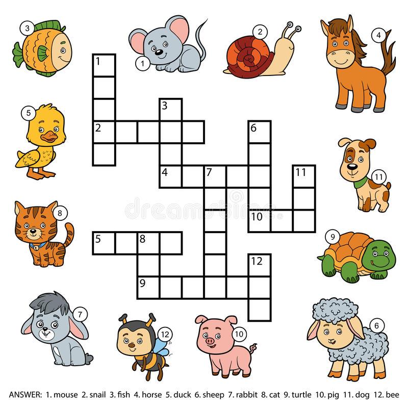 животные на английском для детей